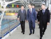 Михаил Игнатьев на спортивных объектах