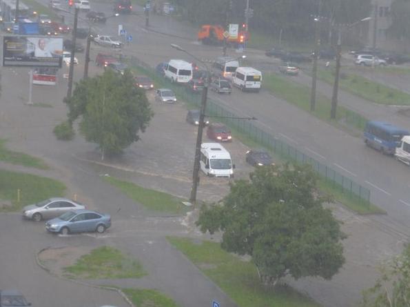Потоп в НЮР Чебоксар