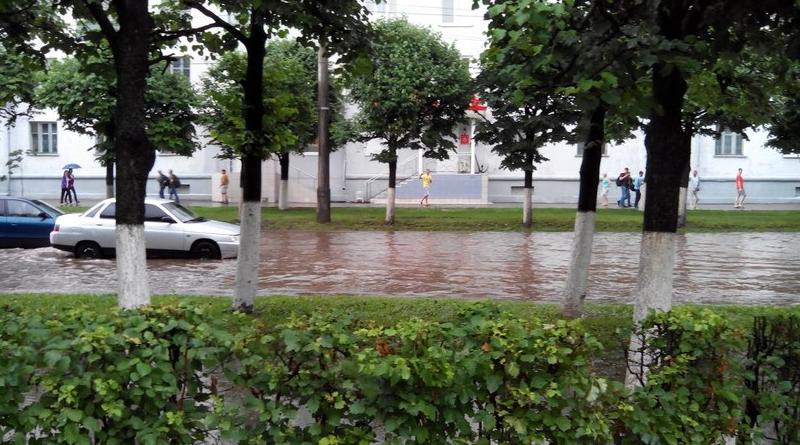 Потоп на Николаева в Чебоксарах