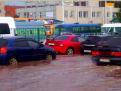 пр. Мира после дождя - Чебоксары