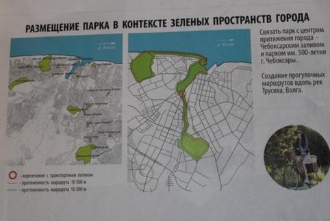 Лакреевский лес Чебоксары
