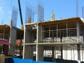 Стройка бизнес-центра в Чебоксарах