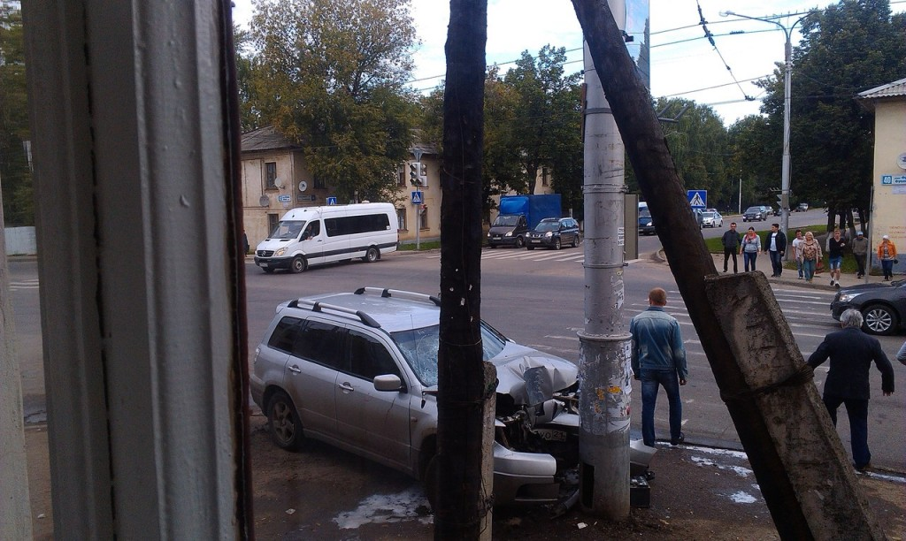Авария на Богданке фото