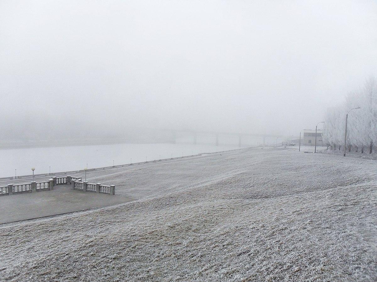 Залив зимой - Чебоксары