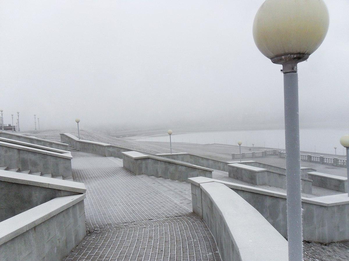 Чебоксары первый снег
