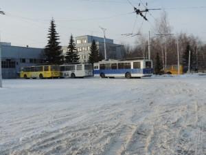 Новые троллейбусы
