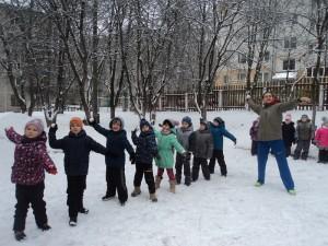 Спортсмены в детском саду