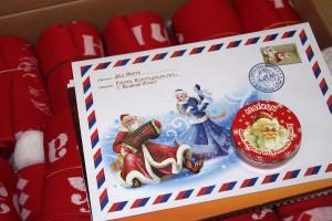 Работа почты Деда Мороза