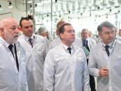 Визит Медведева