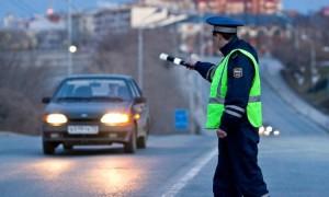 Наезд на полицейского