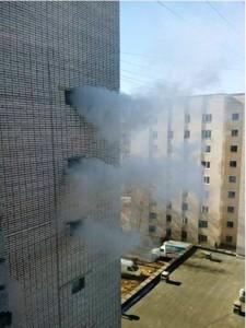 Пожар в Новочебоксарске