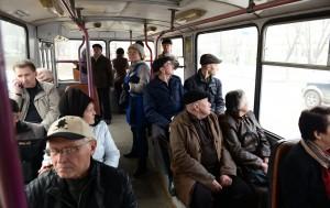 Перестрелка в троллейбусе